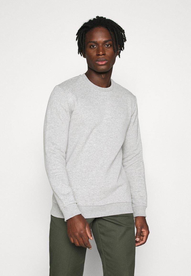 Only & Sons - ONSCERES LIFE CREW NECK - Sweatshirts - light grey melange
