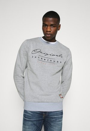 JORSTATION CREW NECK - Sweatshirts - blue heaven