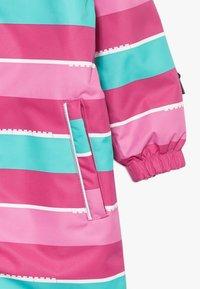 LEGO Wear - LWJUNIN 703 SNOWSUIT - Snowsuit - dark pink - 6