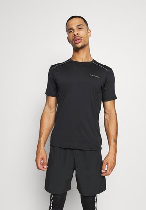 SHAMS TEE - Print T-shirt - black