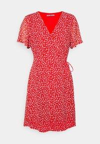 Anna Field Petite - Kjole - red/white - 0