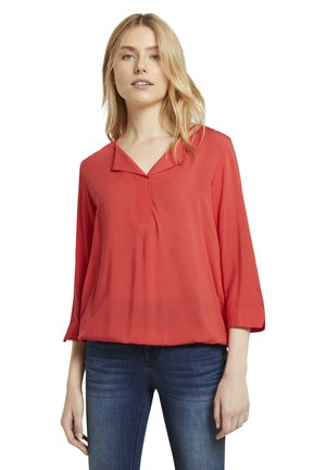 Blouse - strong red