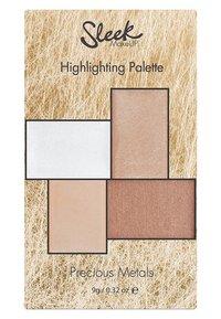 Sleek - HIGHLIGHTER PALETTE - Face palette - precious metals - 1