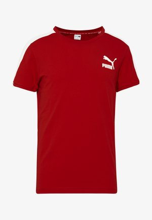 ICONIC - T-shirt imprimé - high risk red