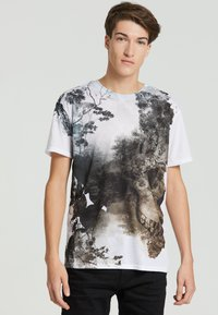 Mr. GUGU & Miss GO - DEAD NATURE - Print T-shirt - white - 0