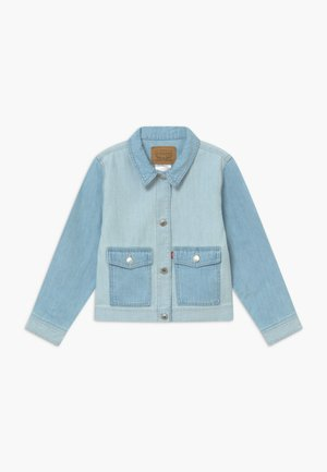 SOFT LIGHT TRUCKER - Chaqueta vaquera - light-blue denim