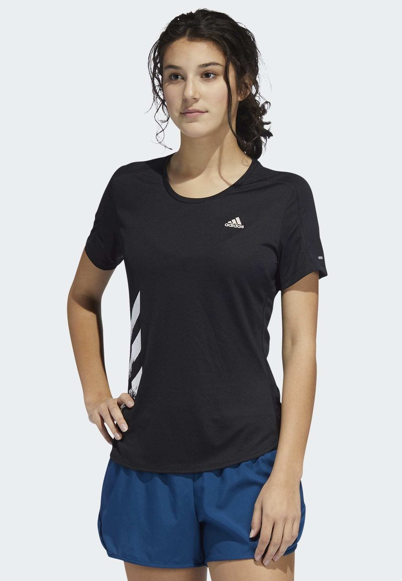 adidas Performance - RUN IT - T-shirts med print - black