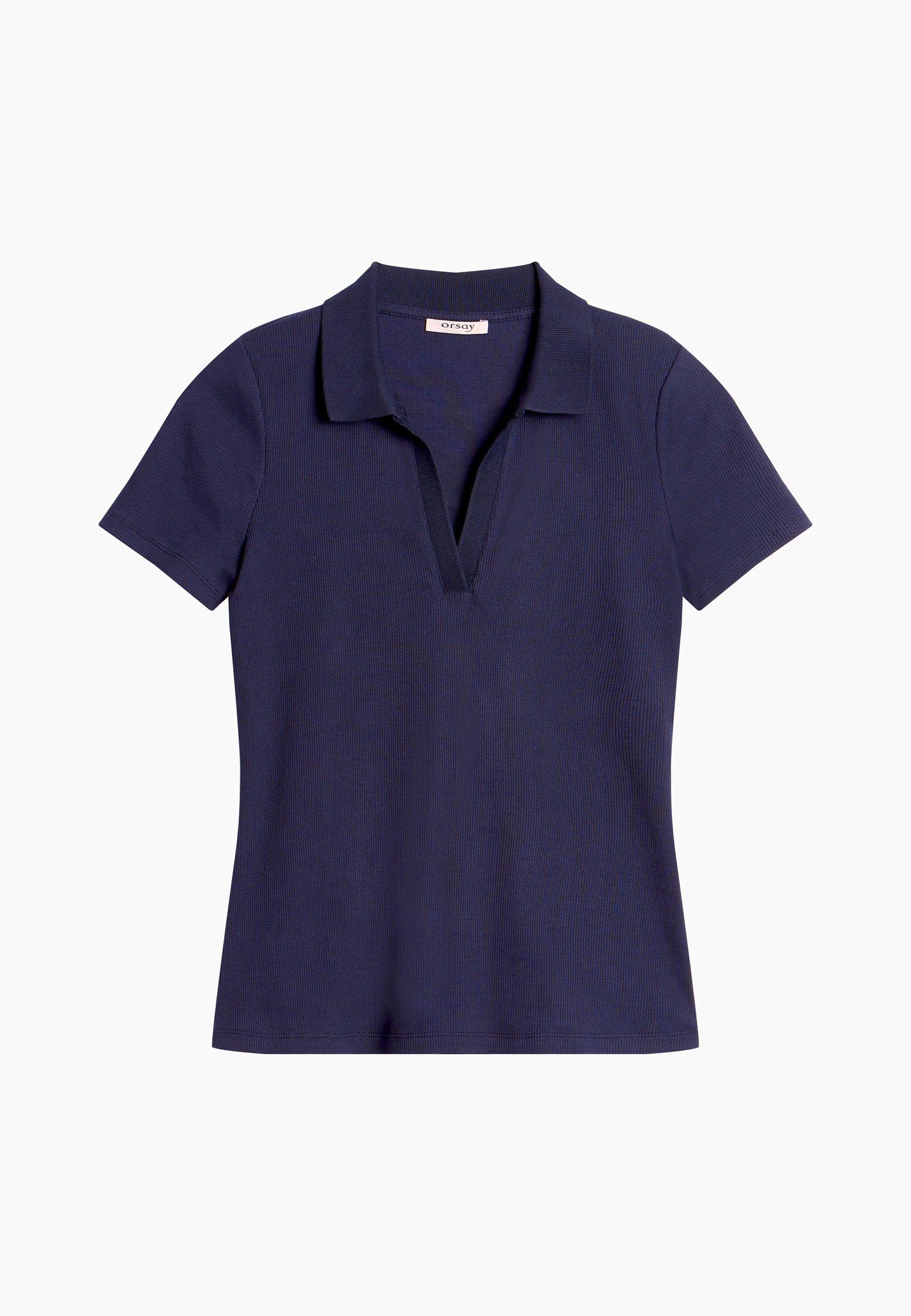 Damen GERIPPTES - Poloshirt