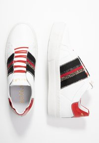 Replay - FRASER - Trainers - white/red - 3