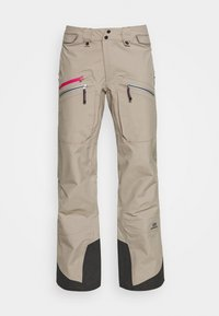 State of Elevenate - WOMENS BACKSIDE PANTS - Pantalón de nieve - tan - 5