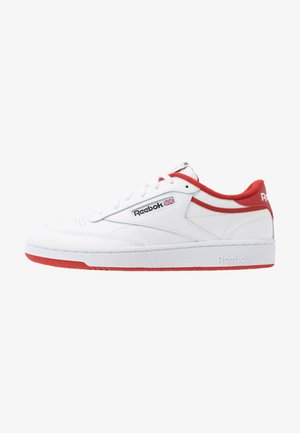 CLUB C 85 - Joggesko - white/legend active red/black