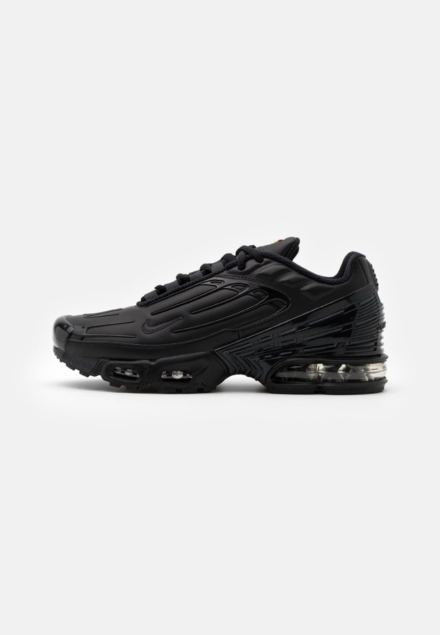 AIR MAX PLUS III UNISEX - Baskets basses - black/dark smoke grey