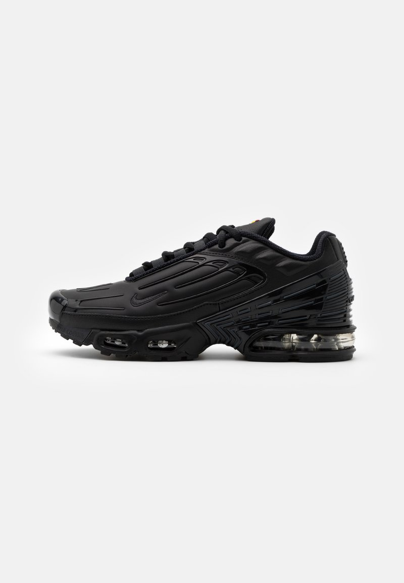 Nike Sportswear - AIR MAX PLUS III UNISEX - Matalavartiset tennarit - black/dark smoke grey