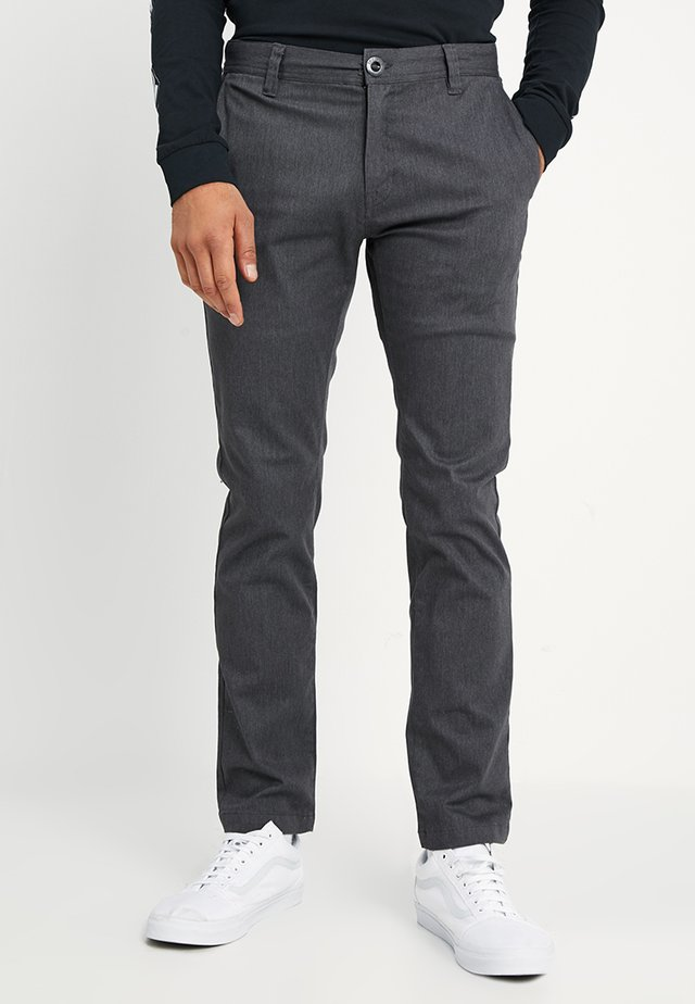 FRICKIN MODERN - Chino kalhoty - charcoal heather