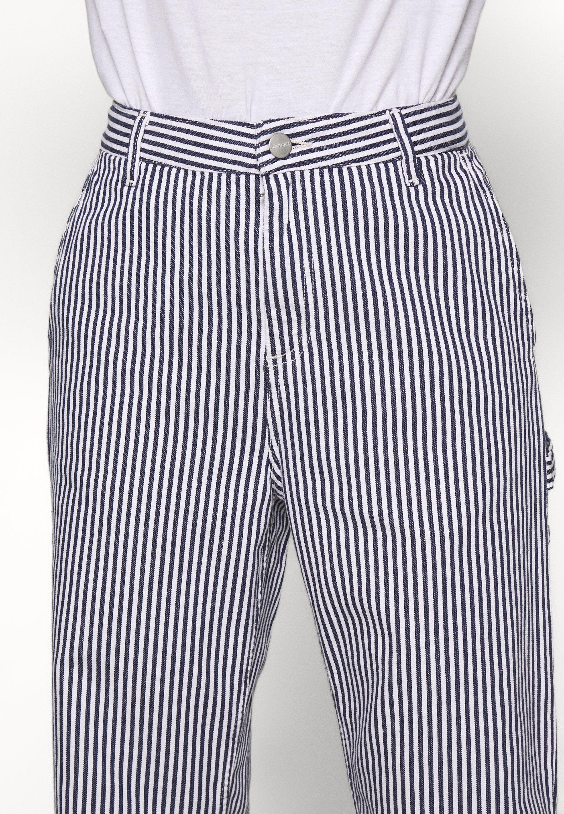 PIERCE PANT STRAIGHT HIALEAH Bukse bluewhite