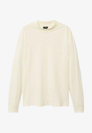 JAVI - Long sleeved top - gebroken wit