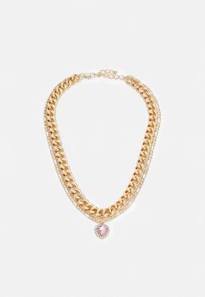PCIRIS COMBI NECKLACE - Necklace - gold-coloured