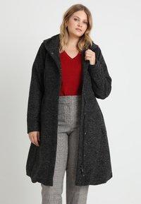 Zizzi - COAT - Classic coat - dark - 0