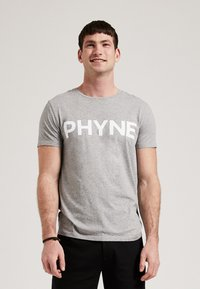 Phyne - T-shirt imprimé - light grey - 0