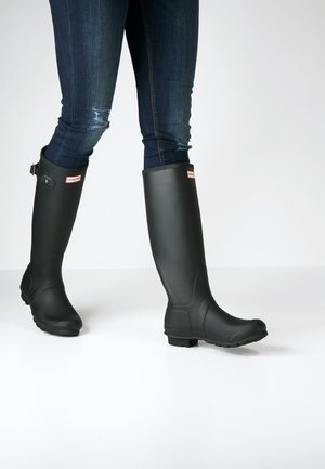TALL VEGAN - Wellies - black