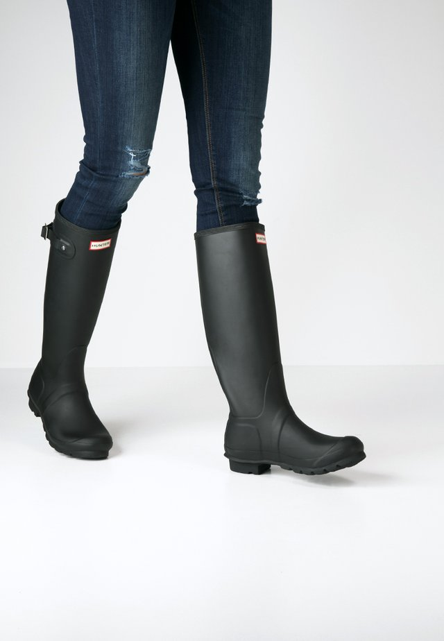 ORIGINAL TALL VEGAN - Wellies - Gummistøvler - black