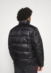Champion Reverse Weave - HOODED JACKET - Winter jacket - black - 3