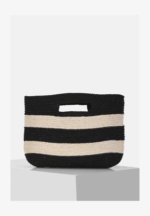 Handtas - black/beige