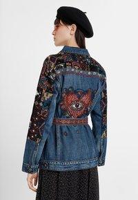 Desigual - ATHLAS PARK - Denim jacket - blue - 2