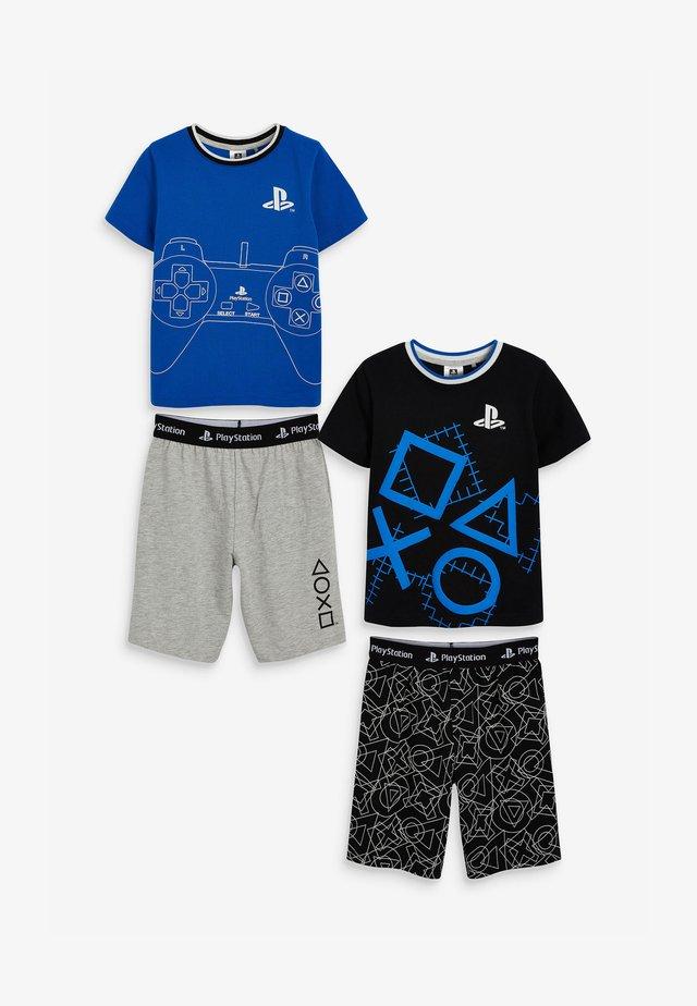 2-PACK - Pyžamová sada - blue