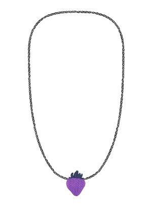 STRAWBERRY - Necklace - purple
