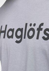 Haglöfs - RIDGE TEE - Print T-shirt - concrete - 3