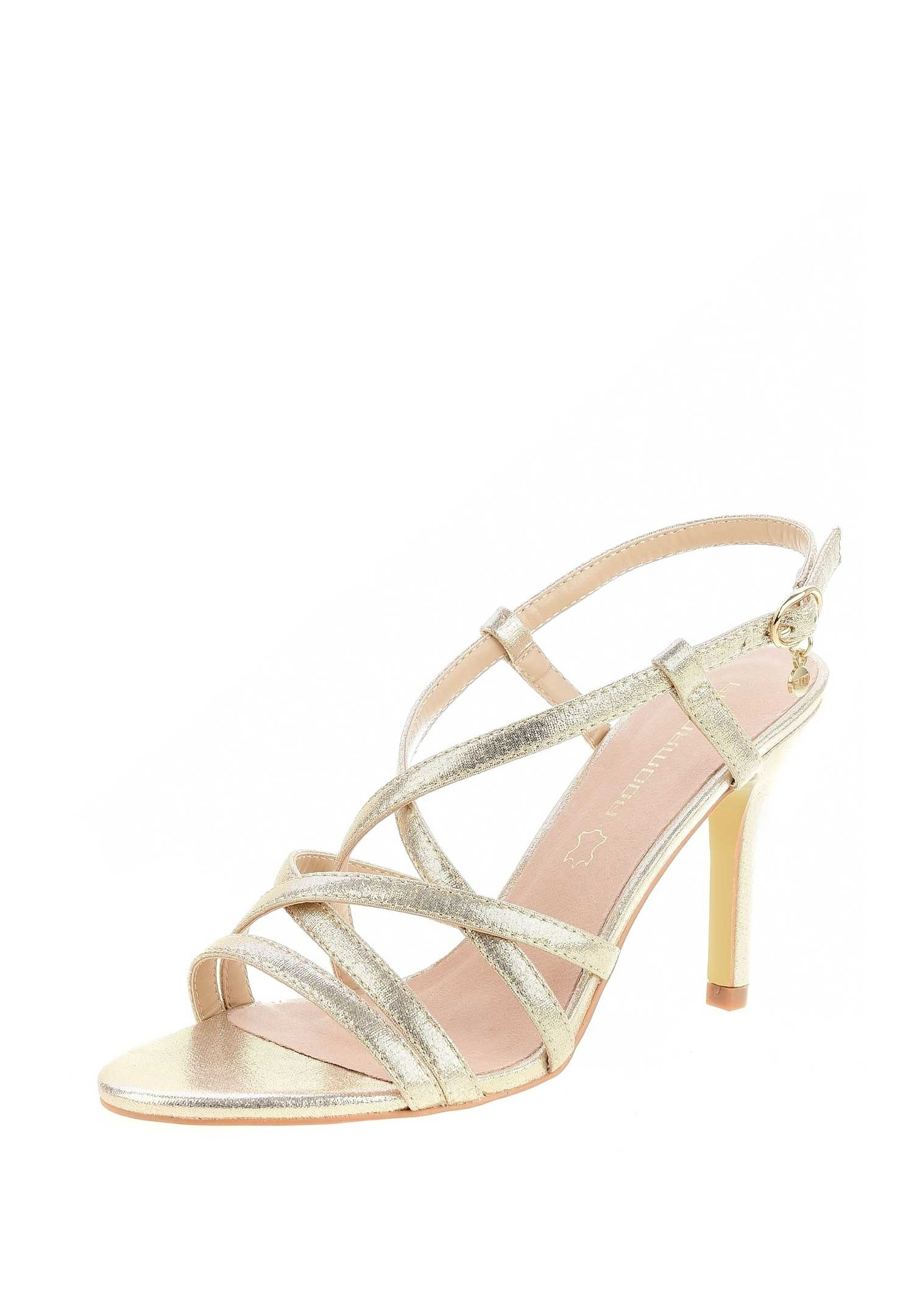 PRIMA MODA ZUMPANO High Heel Sandalette gold