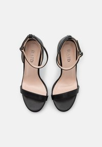 RAID Wide Fit - WIDE FIT CRESSIDA - Platform sandals - black - 5