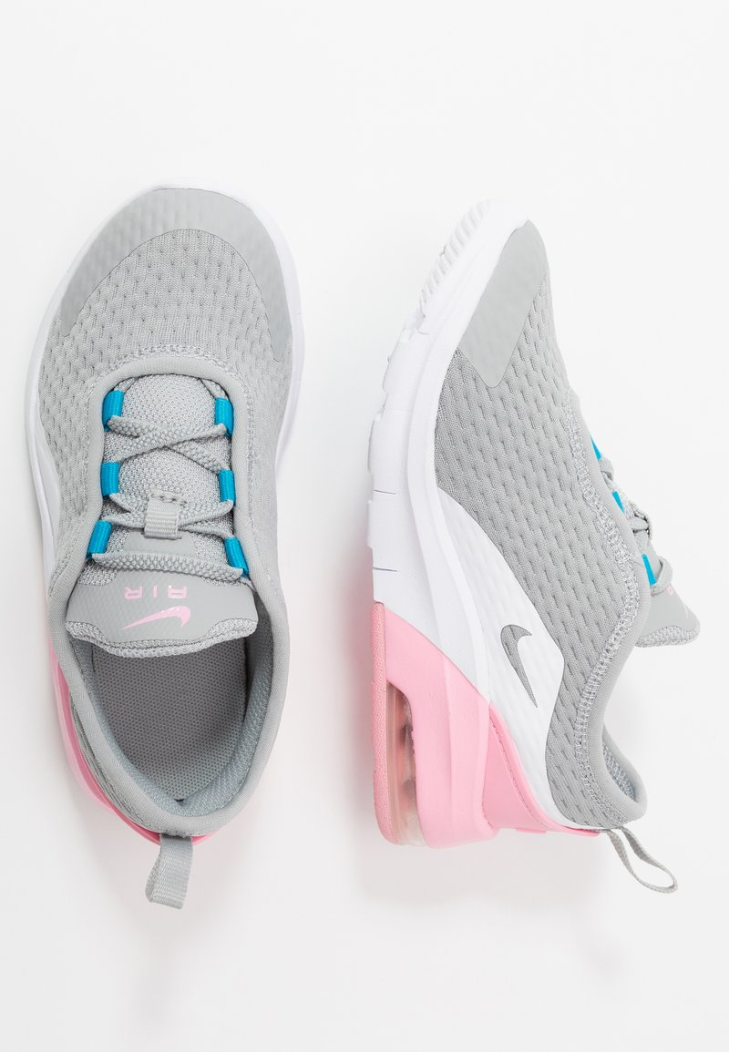 Nike Sportswear - AIR MAX MOTION 2  - Tenisky - light smoke grey/metallic silver/pink/laser blue