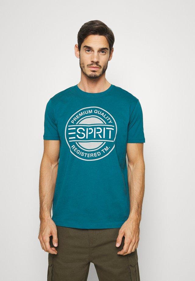 T-shirt imprimé - petrol blue