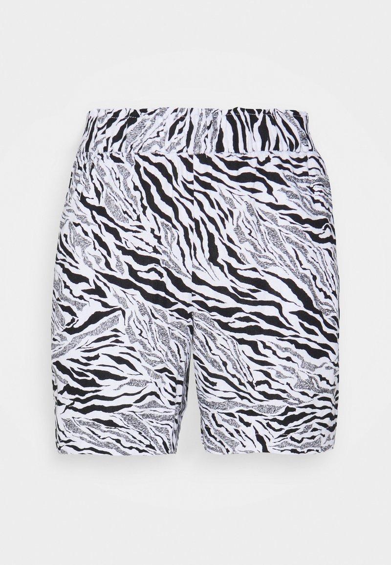 Marks & Spencer London - ZEBRA - Shorts - black