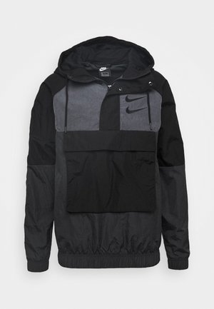 Windbreaker - black/anthracite/dark grey