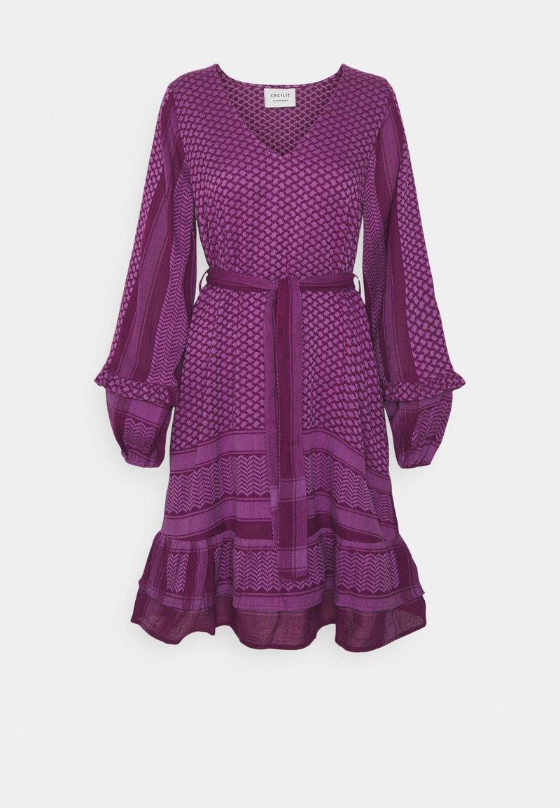 CECILIE copenhagen - LIV - Day dress - plum/violet