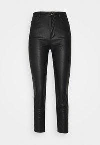 Pinko - SUSAN TROUSERS - Spodnie materiałowe - black - 5
