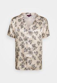Urban Threads - PRINTED FLORAL REVERE - T-shirts print - black/ecru - 0