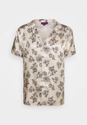 PRINTED FLORAL REVERE - T-shirts print - black/ecru