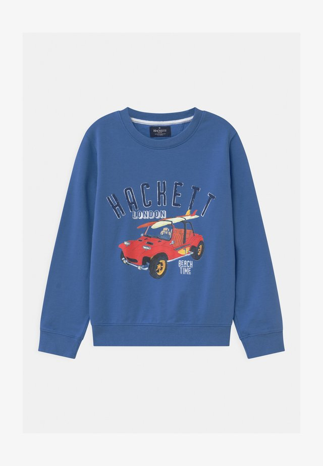 CAR LOGO CREW - Sweatshirt - bright blue
