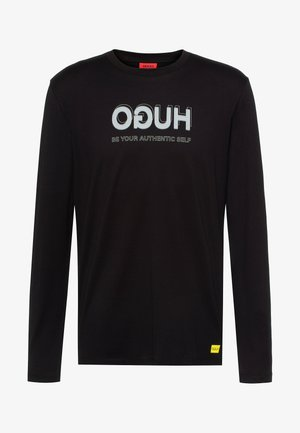HUGO x Smiley® DOREIGNER  - Long sleeved top - black