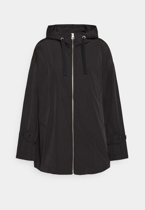 JACKET PACKABLE - Summer jacket - black
