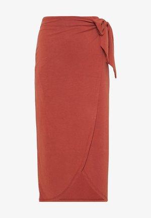 SLCOLUNI SKIRT - Pencil skirt - barn red