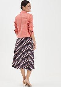 Fransa - FRIVTWILL  - Denim jacket - shell pink - 2