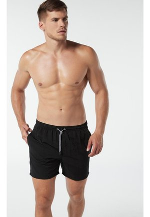 BOXER-BADEHOSE - Swimming shorts - nero