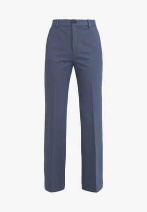 IVY TROUSER - Kalhoty - blue grey