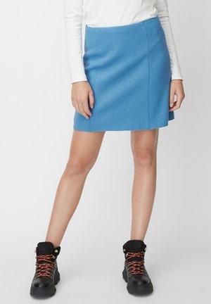 ROCK - A-line skirt - blue