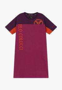 Carlo Colucci - Jersey dress - pink/lila/orange - 0